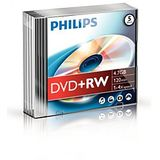 Philips DVD+RW 4.7GB  Slimcase, 4x, PHILIPS