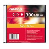 OMEGA OMEGA OMEGA CD-R 700MB 52X SLIM CASE*1 [56113]