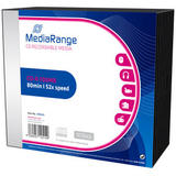 MediaRange MediaRange CD-R 700MB|80min 52x speed, Slimcase Pack 10