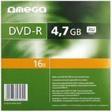 OMEGA Omega  DVD-R 4.7GB 16x Slim Case 10 Pack