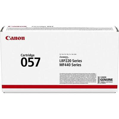 Toner CANON CRG057 TONER CARTRIDGE  BLACK